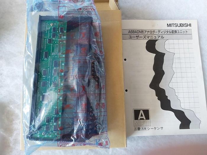 Analog Input Modul, 8 Kanäle, Melsec A68ADN, Mitsubishi Electric,  neu
