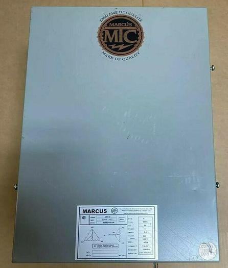 Used Marcus Type TWM Transformer 6 KVA 3 Phase 380V Fast Shipping Warranty