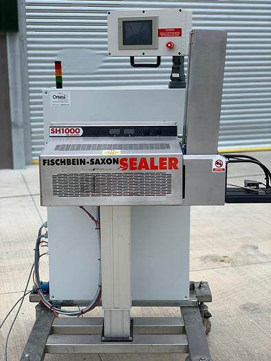 Used 2015 Fischbein-Saxon SH 1000 Hot Air Sealer with Airevac vacuum sealing system
