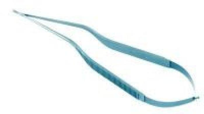 Scissor Cardiovascular Titanium with 30 Degree Curved Tip 240mm (9-1/2in) CODMAN