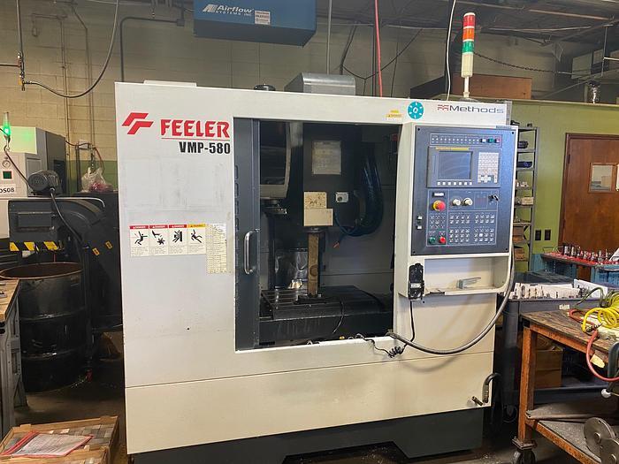 Used 2011 Feeler VMP-580 CNC Vertical Machining Center