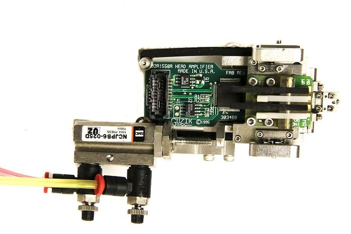 Used Guzik 32R1550R 303460 Rev C Head Amplifier Pneumatic Veeco Spinstand (5239)