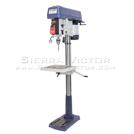 PALMGREN 16-Speed Floor Step Pulley Drill Press (1 PH) 9680177