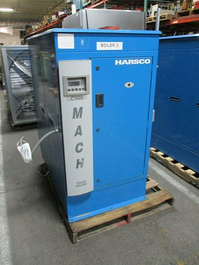 Used 2012 Harsco/P-K MACH Gas-Fired Heating Boiler C-1500H