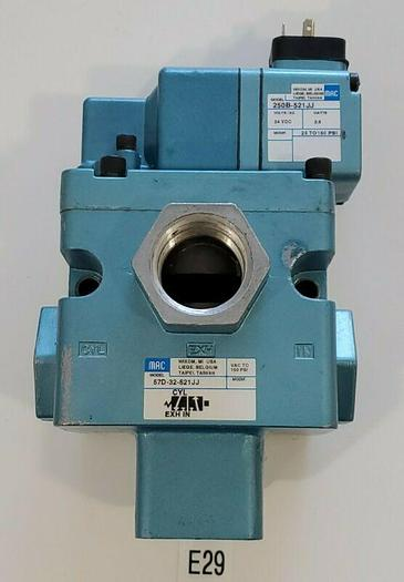 "*NEW* MAC 57D-32-521JJ Solenoid Valve 3/4"" NPT 150PSI & 250B-521JJ + Warranty!"