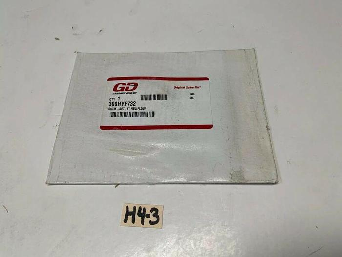 "Gardner Denver 300HYF732 Heliflow 6"" Shim Set *New~Fast Shipping*"