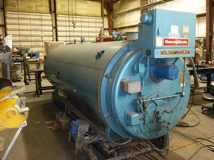 1986 Cleaver Brooks 100 HP  Hot water Boiler  CB-700-100