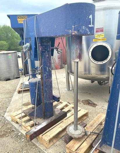 Used 10 HP HIGH SPEED DISPERSER - S/S - UL LISTED