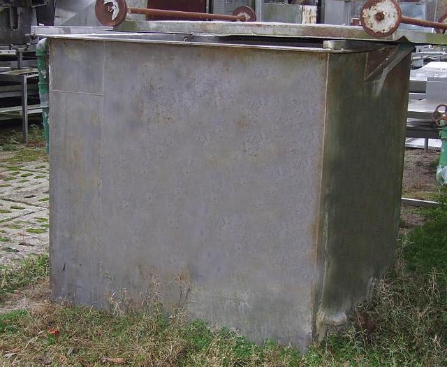 Used Zbiornik nierdzewny z możliwością podgrzania wody parą w systemie otwartym