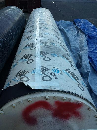 "Used SUCTION COUCH ROLL 37"" (939MM) DIA. x 157"" (3987MM) RECONDITIONED BELOIT"