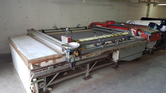Used GALI  screen printing carriage  2001
