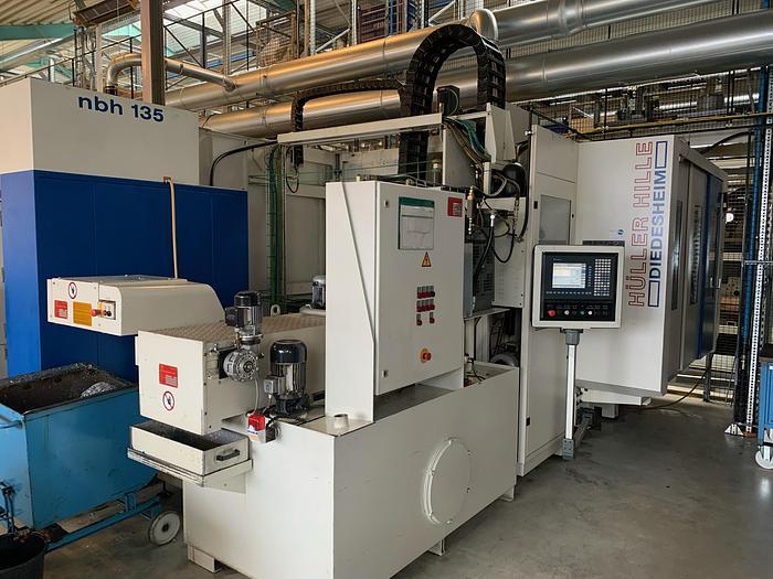 Gebraucht CNC Bearbeitungszentrum horizontal Hüller Hille NB-H135