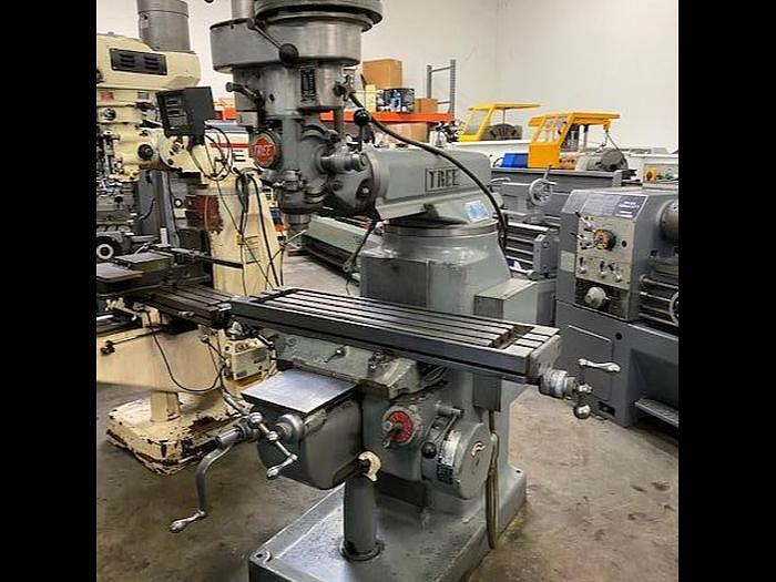 Used Tree Model 2UVR Vertical Milling Machine #5690 #5690