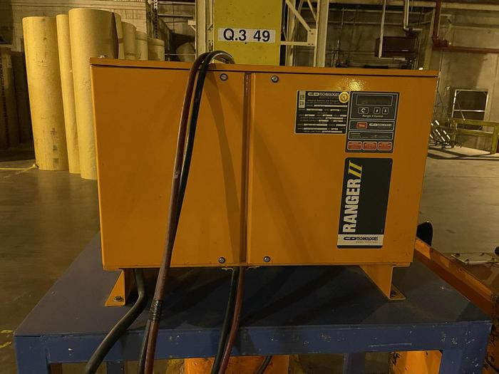 Used C&D TECHNOLOGIES INDUSTRIAL BATTERY CHARGER