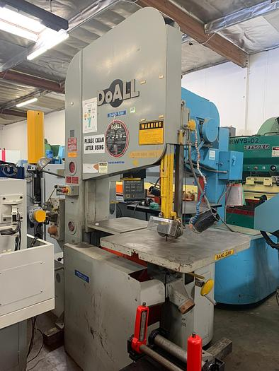 "Used 35"" x 20"", DOALL, ZW-3620 ZEPHYR, 1992, HIGH SPEED, 50-5200 FPM, BLADE WELDER   Our stock number: 5570"
