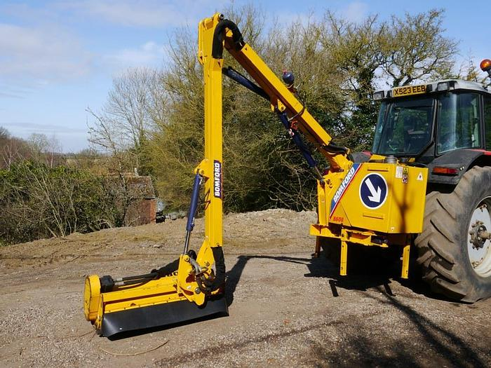 Used Bomford B608 Hedge Cutter
