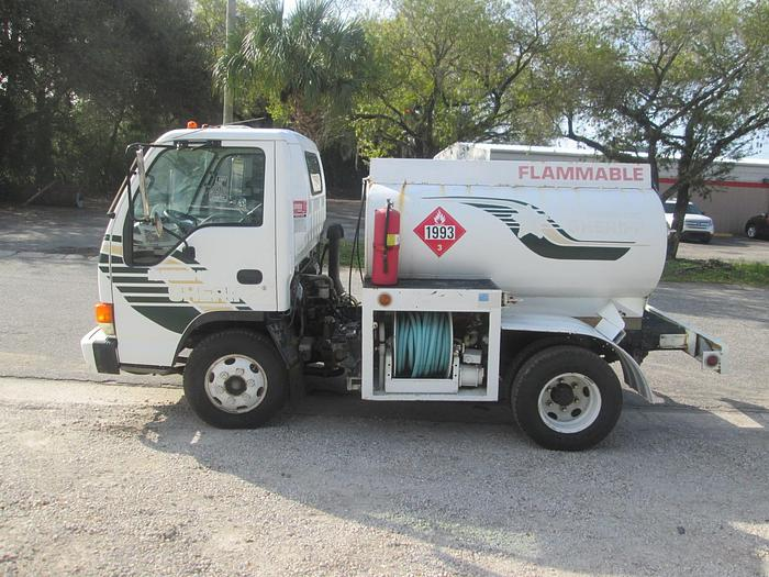 Used 1999 Isuzu NPR Fuel Truck