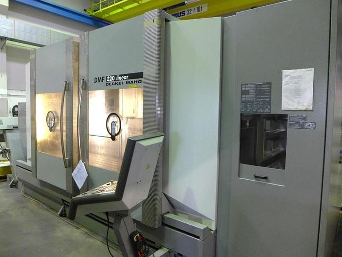 2003 CNC Bearbeitungszentrum DECKEL MAHO DMF 220 linear