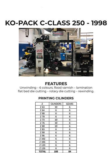 1039 - Ko-Pack C-CLASS 250