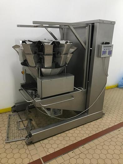 Used 2000 Bilwinco Portable Multihead Weigher  Model DW60/10-D