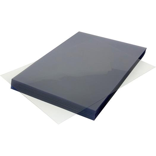 Branded HiClear PVC A4 240Micron Binding Cover Sheets - Bulk Pack (1000)