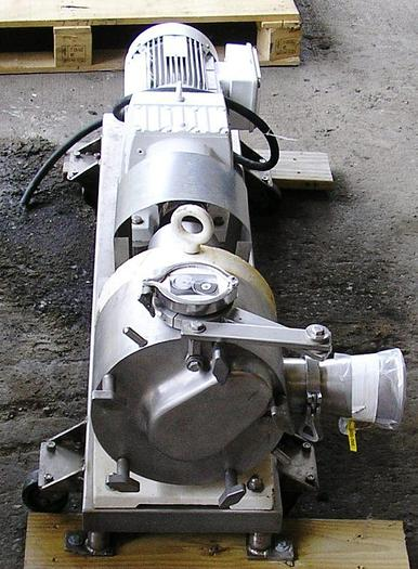 Sine Sanitary Stainless Steel Rotary Positive Displacement Pump