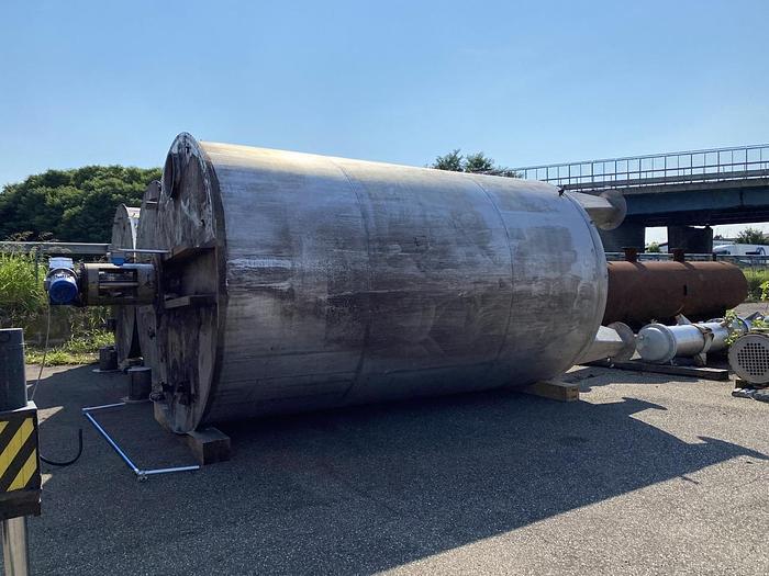 Usata 36000 lt tank with mixer