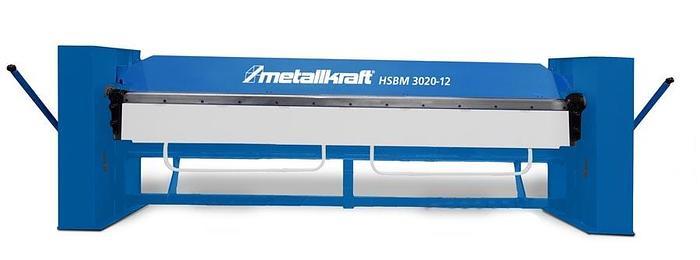 Gebraucht 2020 Metallkraft HSBM 2020-20, manuelle Schwenkbiegemaschine in schwerer Ausführung