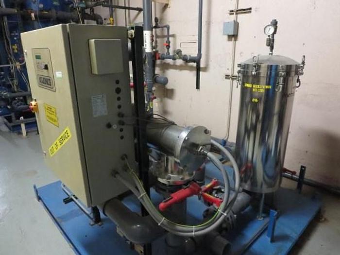 Water Treatment System with Aqua Sonics Ultra-Violet Unit