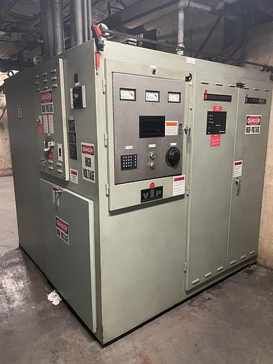 Used 2002 INDUCTOTHERM TILTING INDUCTION FURNACE