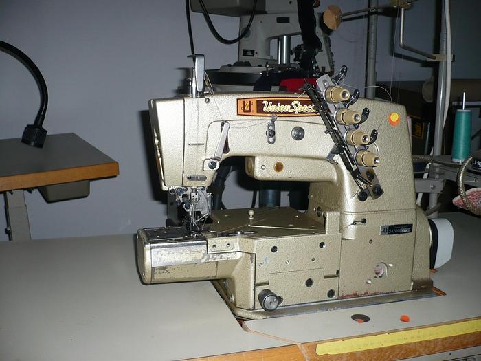 Gebraucht 2-Nadel Freiarm- Saummaschine UNION-SPEZIAL  Kl 34700