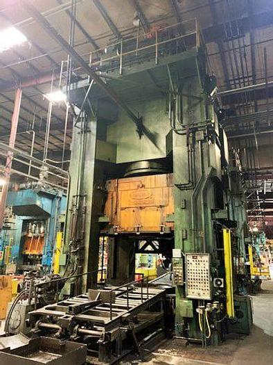 Used 4000 Ton Danly Hydraulic Press