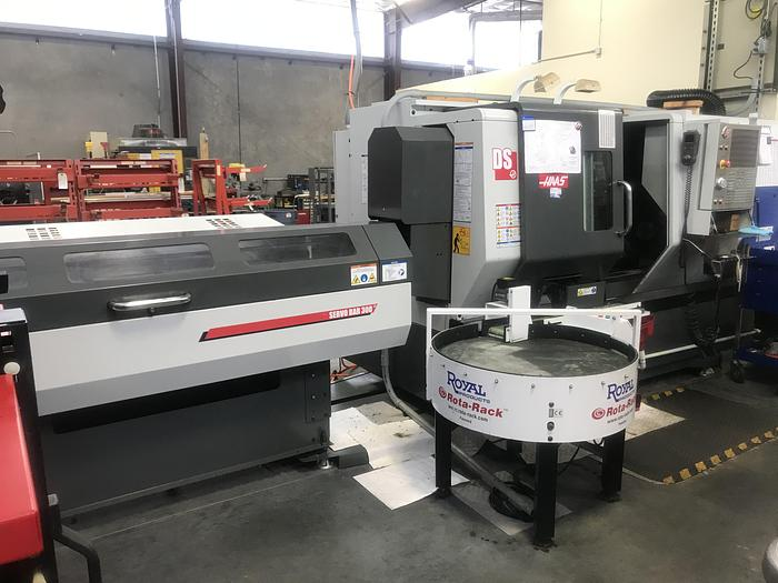 Used 2015 Haas DS-30SSY Dual Spindle CCN Turning Center