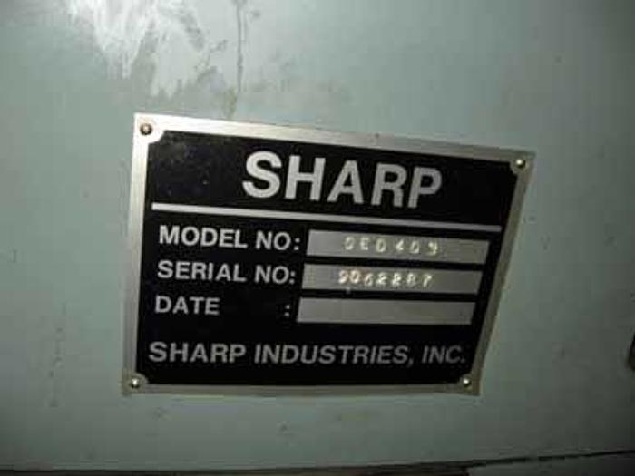 Sharp SED-403 Sinker EDM, Heidenhain Control, 1191.5 hours, 1997