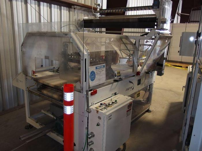 Used FLOW WRAPPER MACHINE ARPAC CAPRA 8000 LS HIGH SPEED SYSTEM MFG 2010
