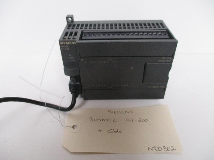Used Siemens SIMATIC S7-200