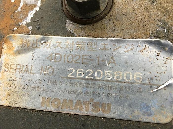 KOMATSU 4D102E-1-A
