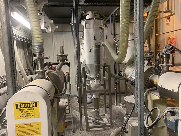 Used JENCO C15PP Vacuum conveying system