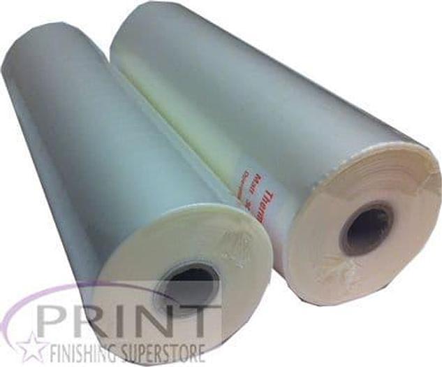 """Matt Laminating Film Roll 125 Micron (2 Rolls) - ML317501251 635mm x 100m 1"""" Core"""