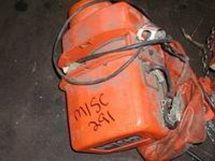 Used Nitchi EC-3M 1 ton chain hoist, 220 V, 3 Ph