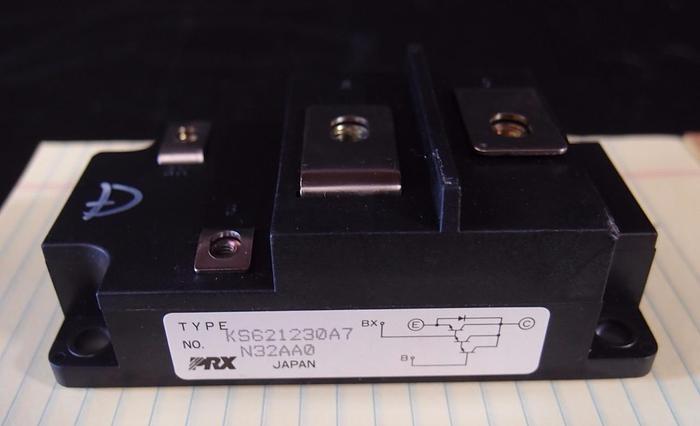 Used Powerex PRX Single Darlington Transistor Module KS621230A7 LOT of 2 (3155)