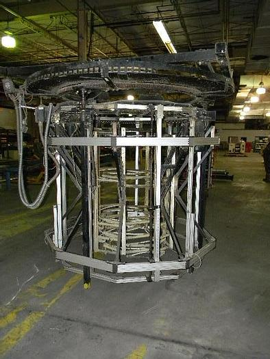 """Used 80"""" Windmoller Holscher Rotating Bubble Cage"""