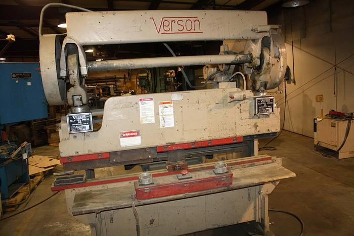 Used Verson Mechanical Press Brake 2062