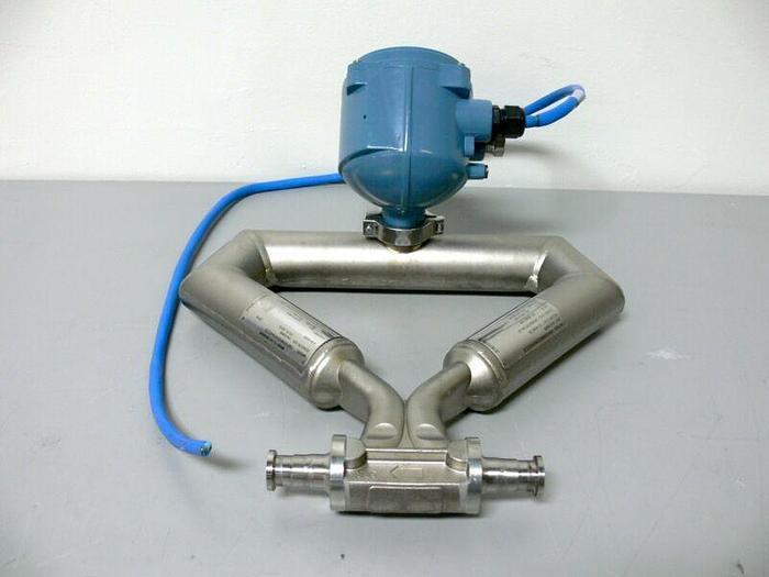 "Used Micro Motion CMF050M322N2BAEZZZ Mass Flow Sensor 1/2"" Flow Meter"