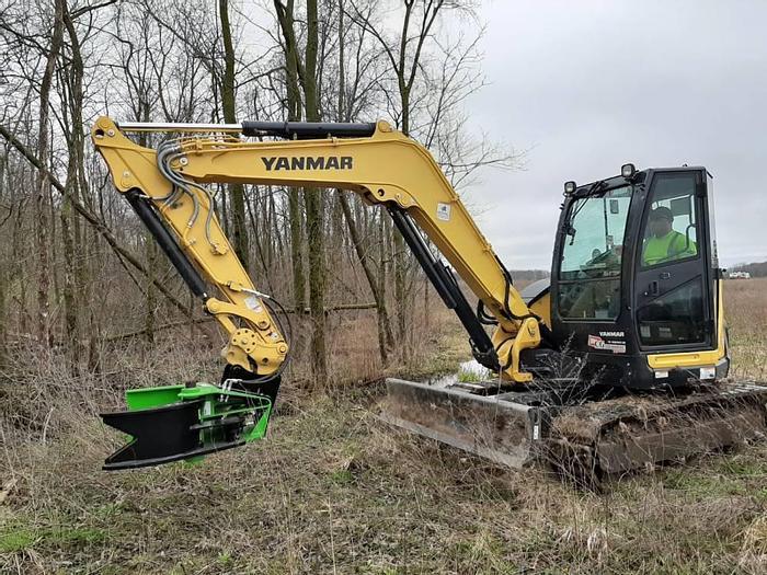 Tree Shears for Mini excavator & Skid Steers up to 50Ton machines