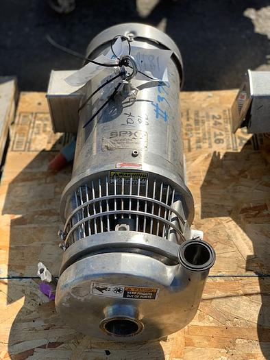 "Used Waukesha / Cherry - Burrell 2"" x 1 1/2"" Centrifugal Pump"