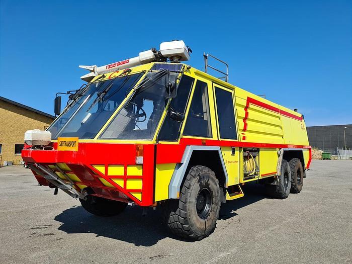 Meget god 1986 Rosenbauer Simba 6x6 Brandslukningskøretøj