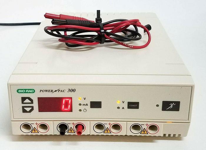 Used Bio-Rad Powerpac 300 Power Supply with Cable 525936 Pomona (4964)
