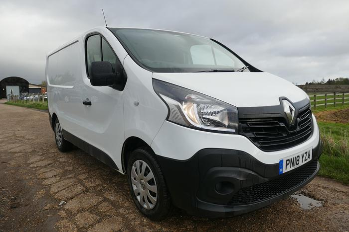 Used 2018 RENAULT TRAFIC 6 SPEED