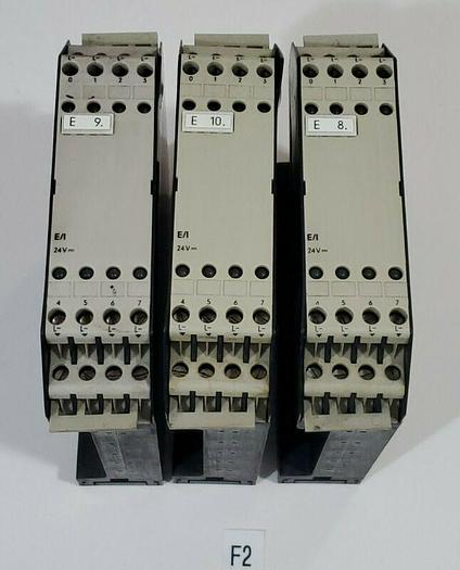 Used *PREOWNED* Lot of 3 Siemens Simatic S5-110 6ES5 400-7AA13 Input Module Cards